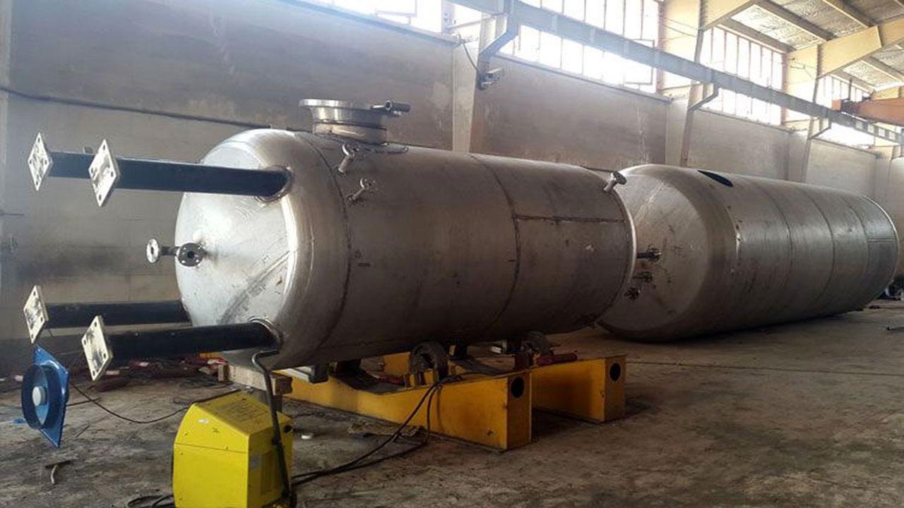 ساخت مخازن صنعتی در شیراز